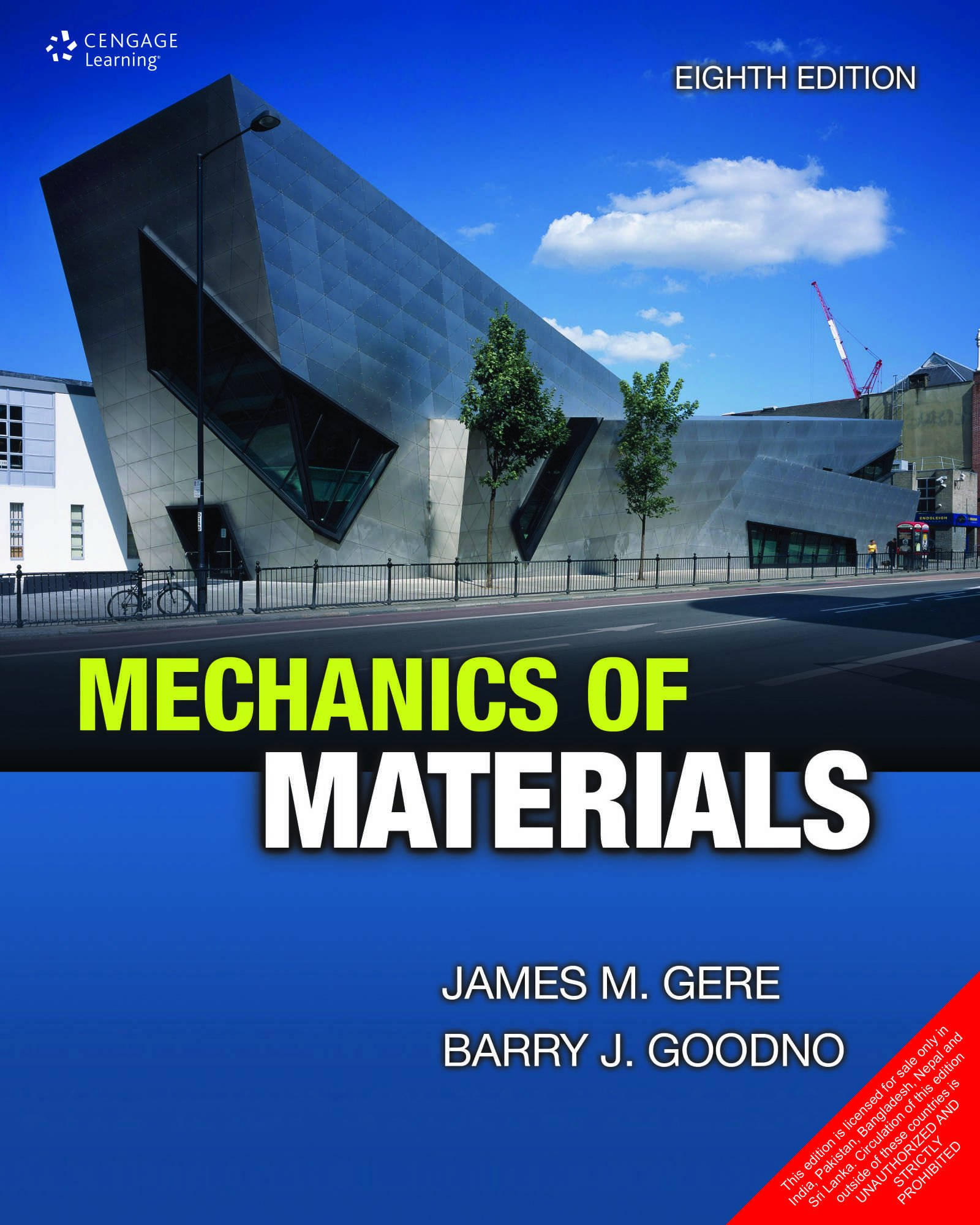 MECHANICS OF MATERIALS, 8TH EDITION