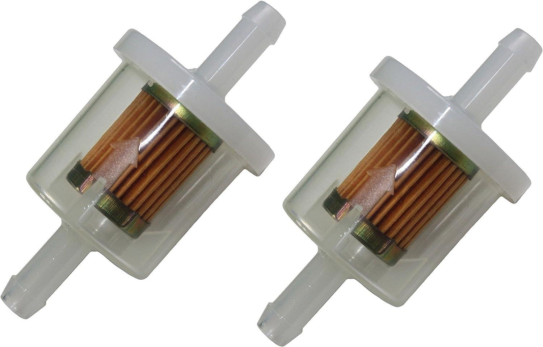 "1//4/"" Inline Fuel Filter for BRIGGS /& STRATTON 493629 691035 5065 49019-7001"