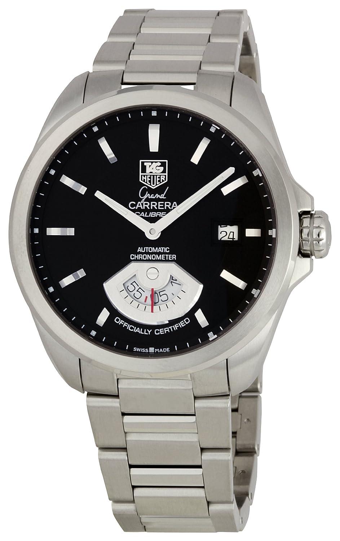 85f431b625e Amazon.com: TAG Heuer Men's WAV511A.BA0900 Grand Carrera Automatic Calibre  6 RS Watch: Tag Heuer: Watches