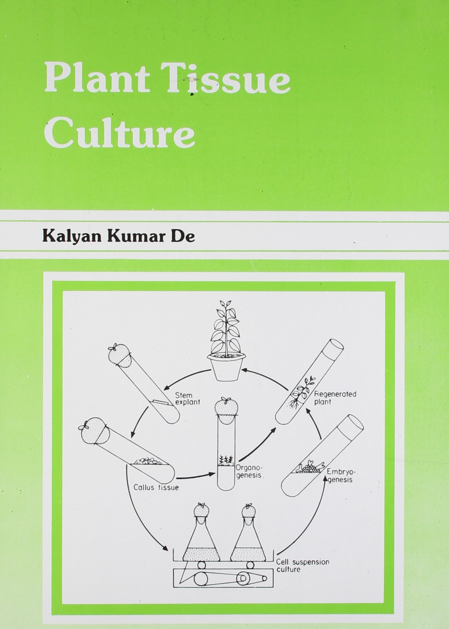 Plant Tissue Culture Amazon Co Uk Kalyan Kumar De