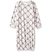Everly Grey Women's Roxanne 5 Piece Maternity and Nursing PJ Pant Set with Robe and Matching Baby Gown, Duchess, Large