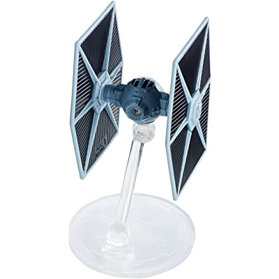Hot Wheels Star Wars Starships 40th Anniversary Tie Fighter Vehicle: Toys & Games