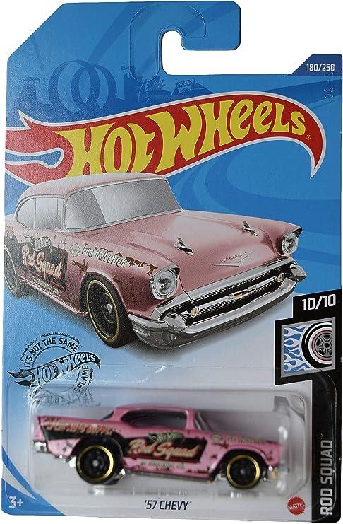 HOT WHEELS 2020 /'57 Chevy ROD SQUAD 180//250