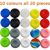 Pandaren® Thumb Grip Caps 10 sets for PS2, PS3, PS4, Xbox 360, Xbox One, Wii U, Switch PRO tablet controller