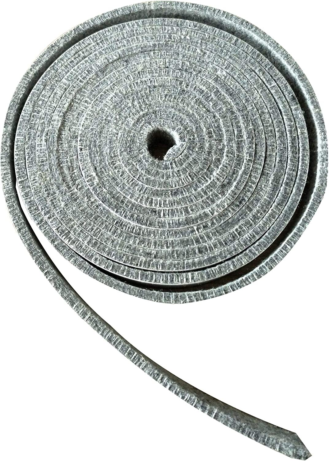 "BroilPro Accessories 800F High Temp Rated BBQ Smoker Gasket Self Stick Felt 15ft Long, 3/4"" Wide, 1/5"" Thick"