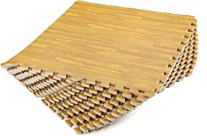 MIISY Gymnastic Mat Puzzle EVA Foam Interlocking Tiles Exercise Workout Mat Protective Floor Mats for Home Gym Equipment