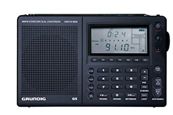 GRUNDIG G5 AM/FM/Shortwave Portable Radio with SSB (Discontinued by  Manufacturer)