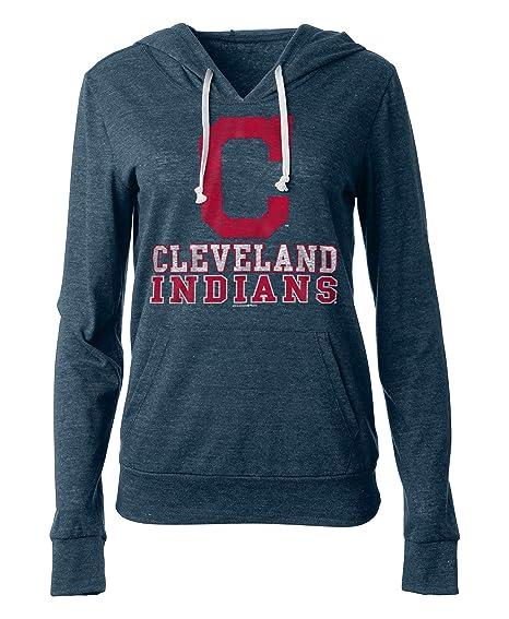 size 40 39500 bdbd8 Amazon.com : New Era Cleveland Indians Women's Playoff Tri ...