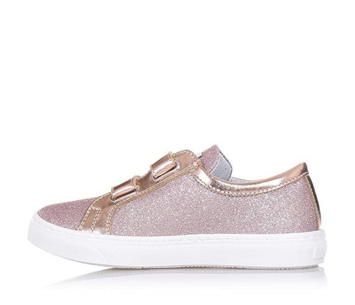 CIAO BIMBI - Zapato rosa de cuero con glitter, la atención a cada detalle, Niña, Niñas-32