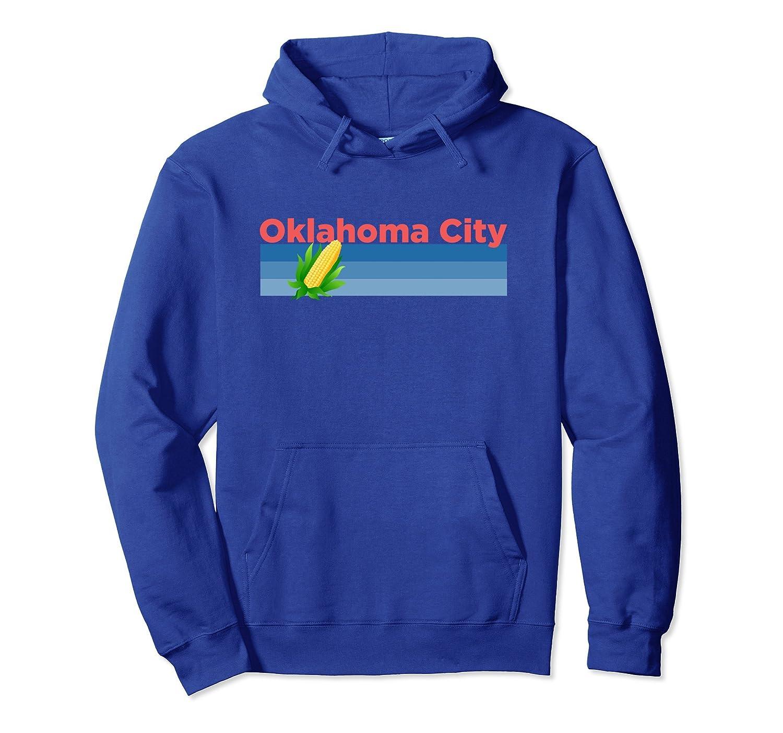 Oklahoma City Retro Corn - Oklahoma Hoodie Sweatshirt-fa