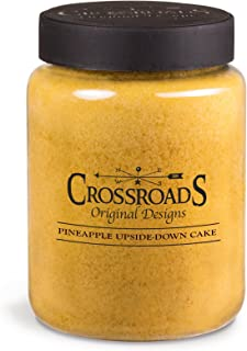 product image for Crossroads Pineapple Upside Down Cake Scented 2-Wick Candle, 26 Ounce