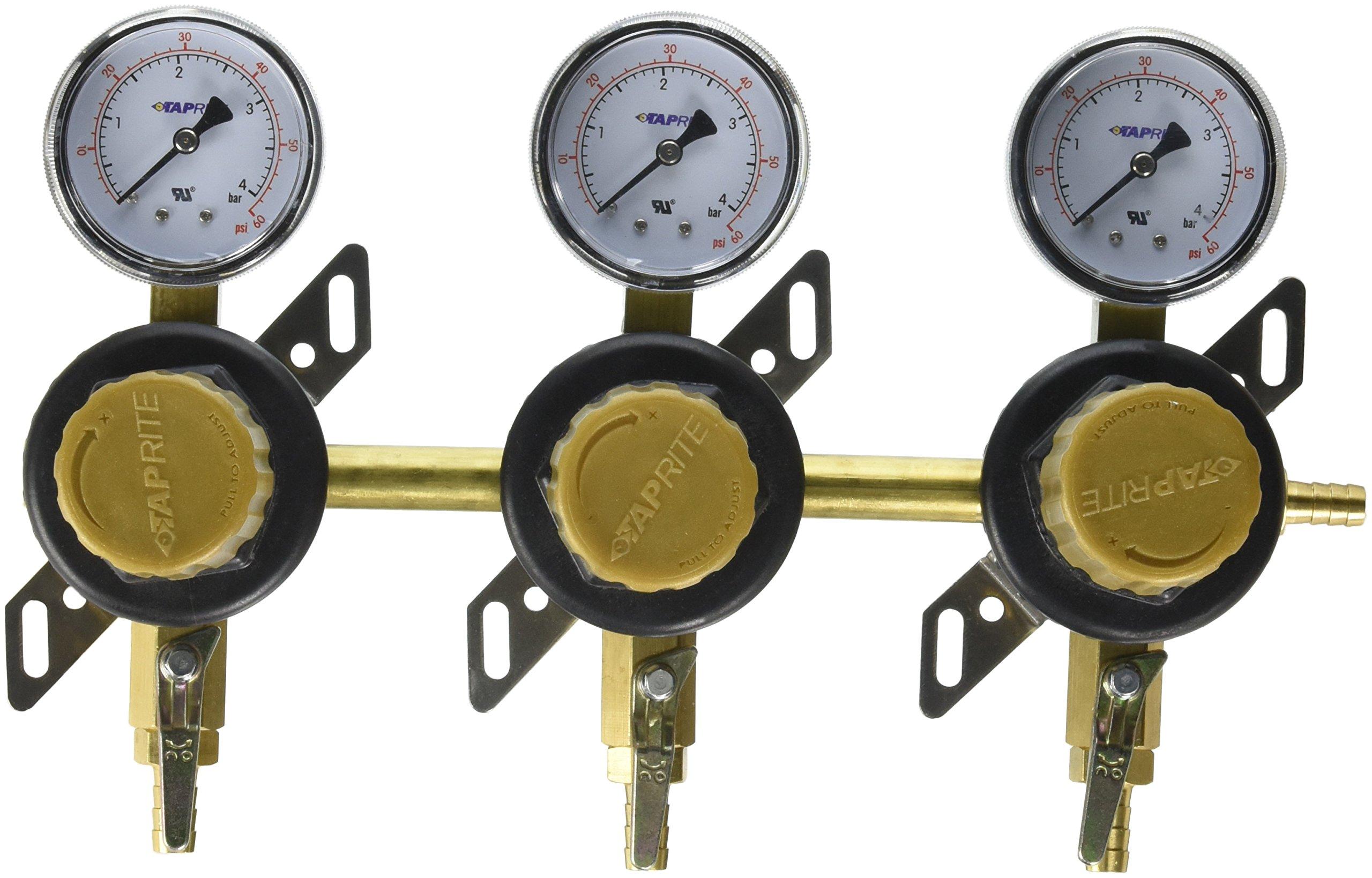 Taprite CGR283 3 Way Secondary CO2 Regulator