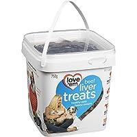 love'em Beef Liver Treats Tub 750g, 1 Piece