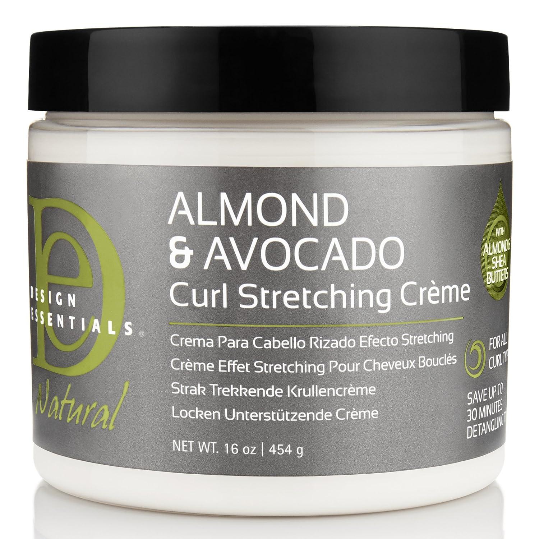 Amazoncom Design Essentials Natural Curl Stretching Crème To
