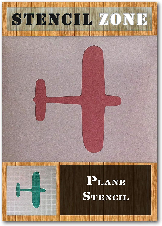 Aviation Avion Peinture Jet Mylar avion Airbrush Wall Art Artisanat Stencil Cinq-XL