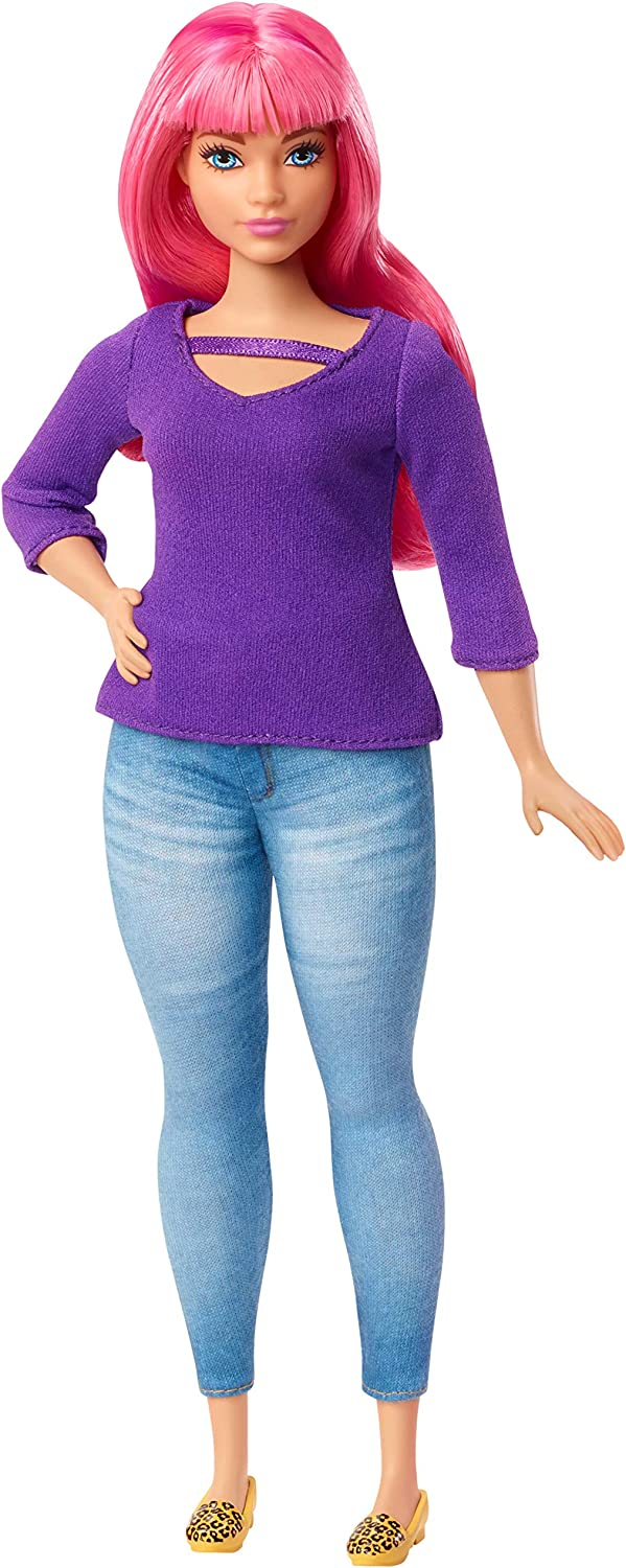 Amazon.es: Barbie Dreamhouse Adventure Daisy muñeca curvy con pelo ...