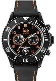 ICE-Watch - CH.BOE.B.S.14 - Ice Chrono Drift - Montre Mixte - Quartz Analogique - Cadran Noir - Bracelet Silicone Noir