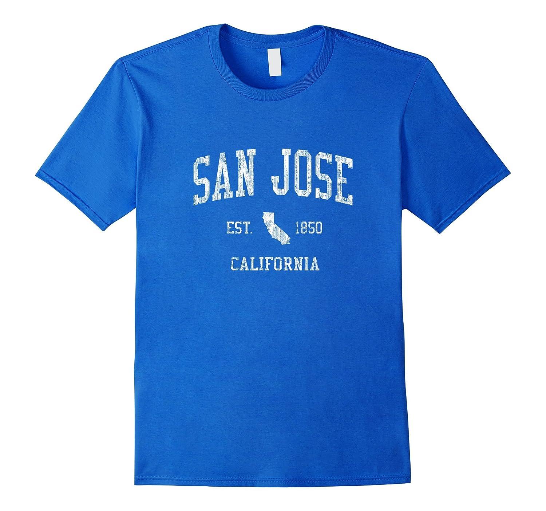 Amazon San Jose California T Shirt Vintage Sports Design Sj Ca