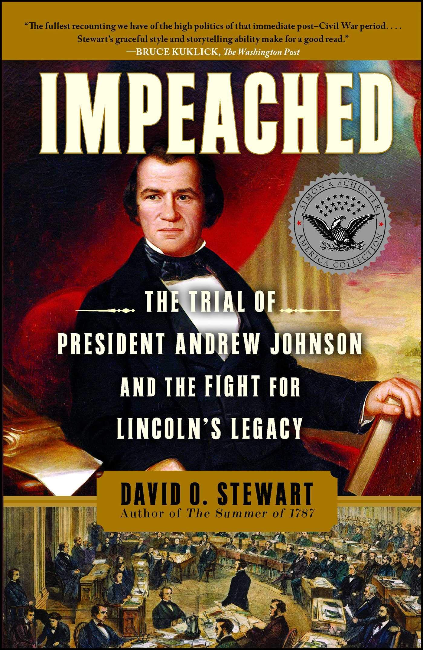 at the conclusion of president andrew johnsons impeachment trial