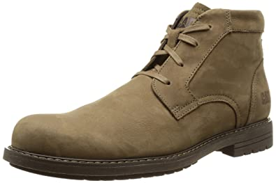 Cat Footwear Men's Brock Cold Lined Desert Boots Short Length Brown Size: 6