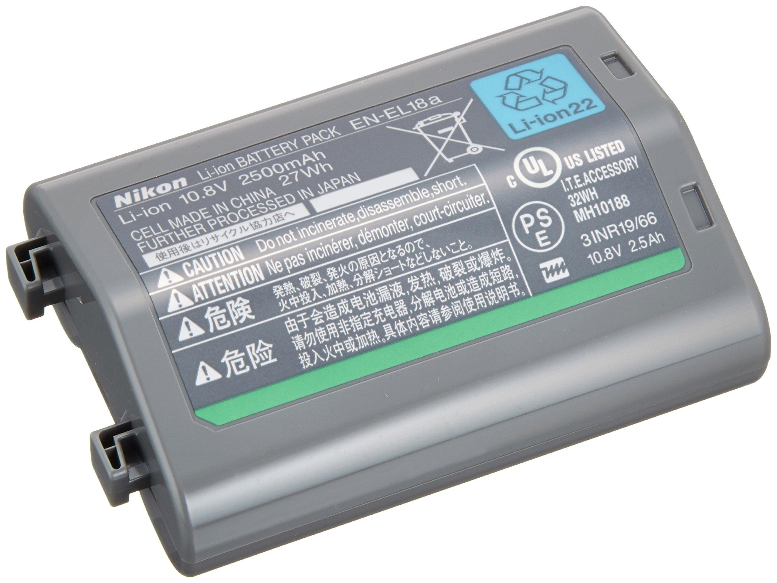 Nikon Li-ion rechargeable battery EN-EL18a