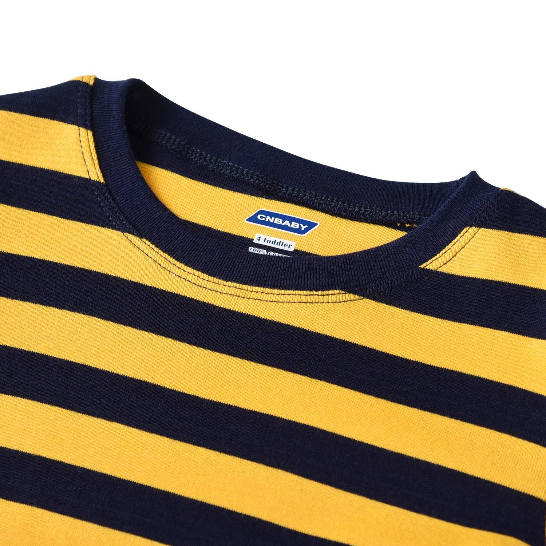 CNBABY Stripe Pajamas for Boys Pjs Sleepwear 2 Piece