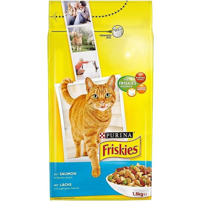 Friskies Comida para Gato Adulto Talla & Sabor Elegir: Amazon.es: Productos para mascotas