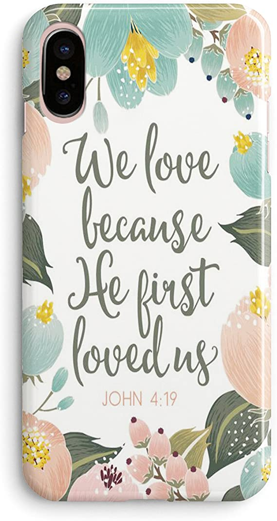 com iphone xr case girls life power quotes cute flowers