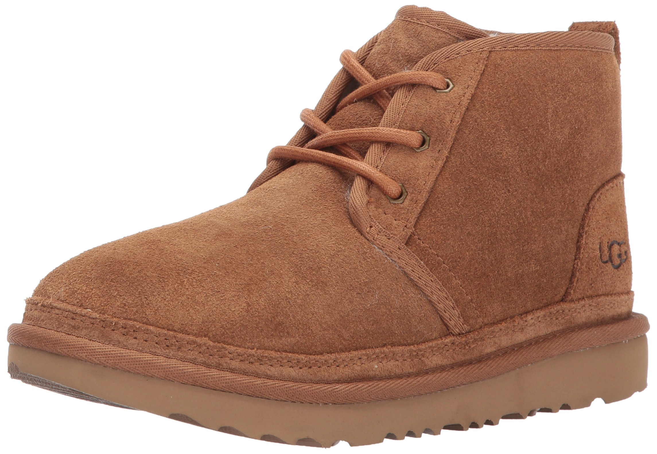 UGG Kids K Neumel II Chukka Boot, Chestnut, 6 M US Big Kid