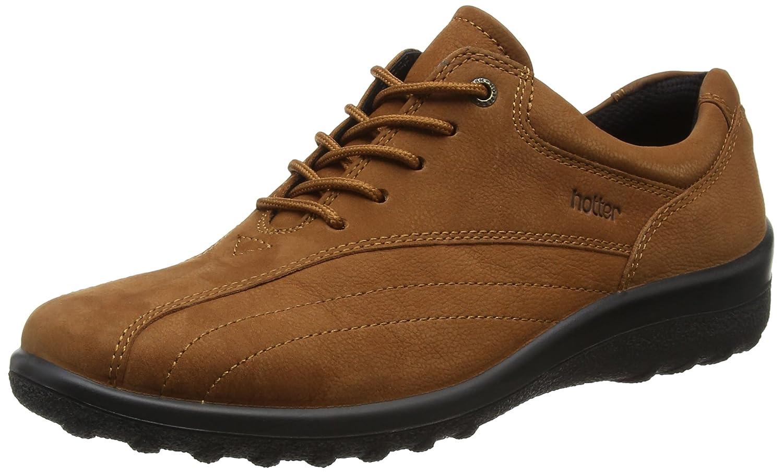Hotter Tone, Zapatos de Cordones Oxford para Mujer 41.5 EU Marrón (Tan 052)