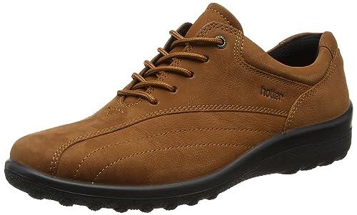 Tone, Zapatos de Cordones Oxford para Mujer, Marrón (Tan 052), 41.5 EU Hotter