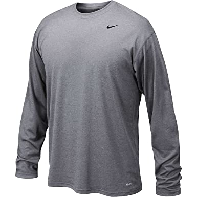 Amazon.com: Nike Long Sleeve Legend-Grey-XL: Sports & Outdoors