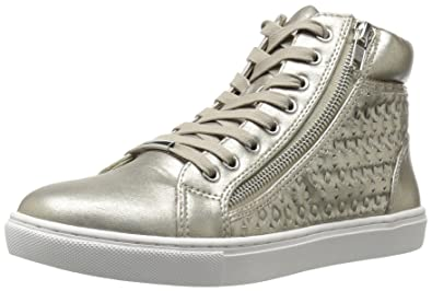 0cd76c257df Steve Madden Women s Eiris Fashion Sneaker Platinum 6 M US