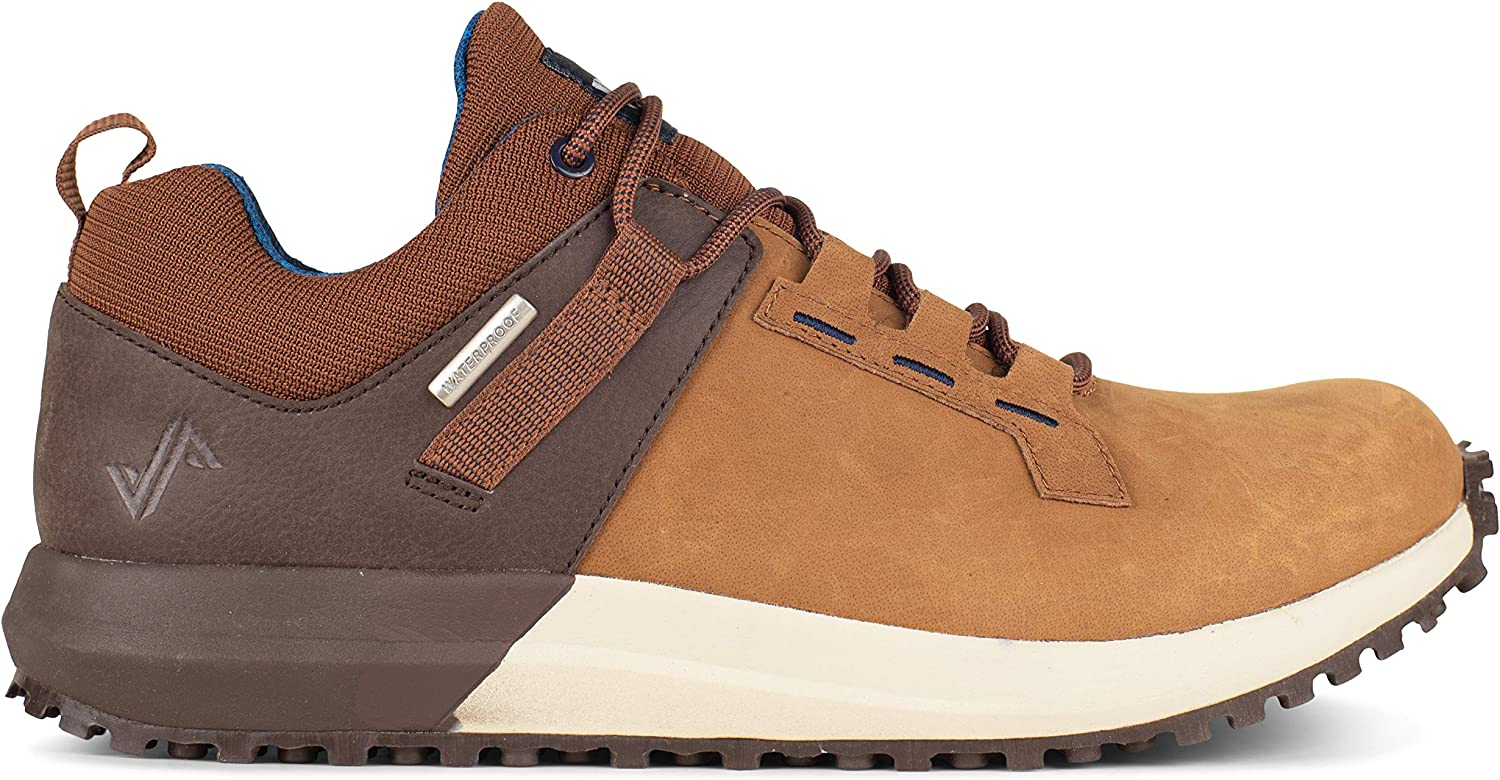 Forsake Range Low Men's Waterproof Leather Approach Sneaker