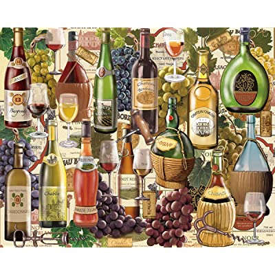 White Mountain Puzzles Wine Country - 1000 Piece Jigsaw Puzzle, Standard Packaging: Toys & Games