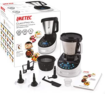 Imetec Cukò Pro XL CM3 2000 Robot de cocina multifunción con ...