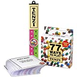 Tenzi with 77 Ways - All Ages Dice Party Game with Add-On Card Set - Colors May Vary