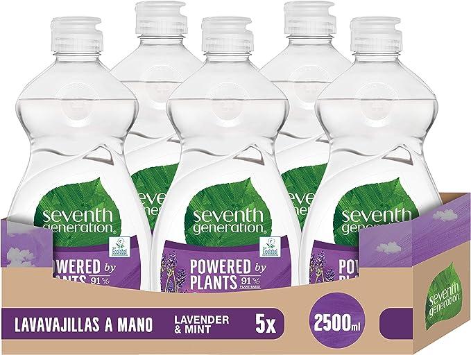 Seventh Generation Lavender Flower & Mint - Lavavajillas a Mano, 0 ...