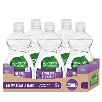 Seventh Generation Lavender Flower & Mint - Lavavajillas a Mano, 0 ...