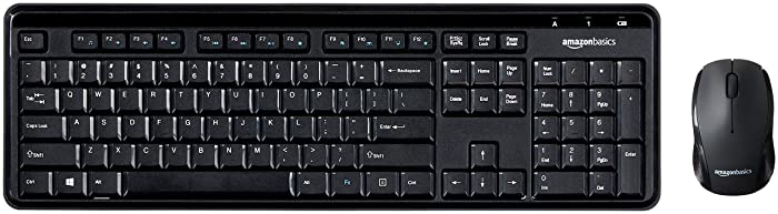 The Best Amazonbasics Wireless Keybaord