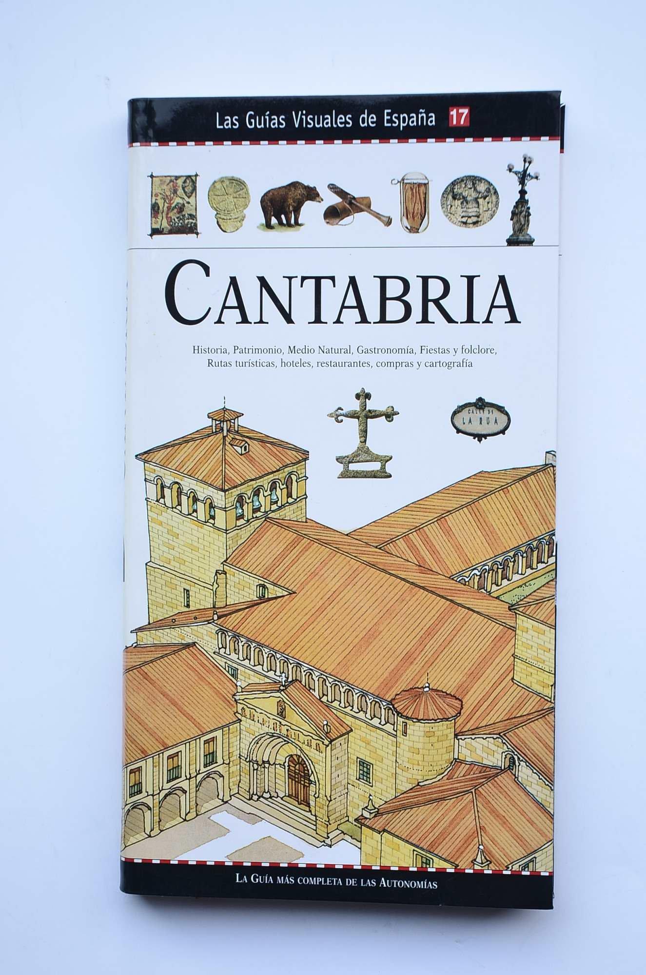 Las Guías Visuales de España. Num. 17: Cantabria: Amazon.es: Vv.AA: Libros