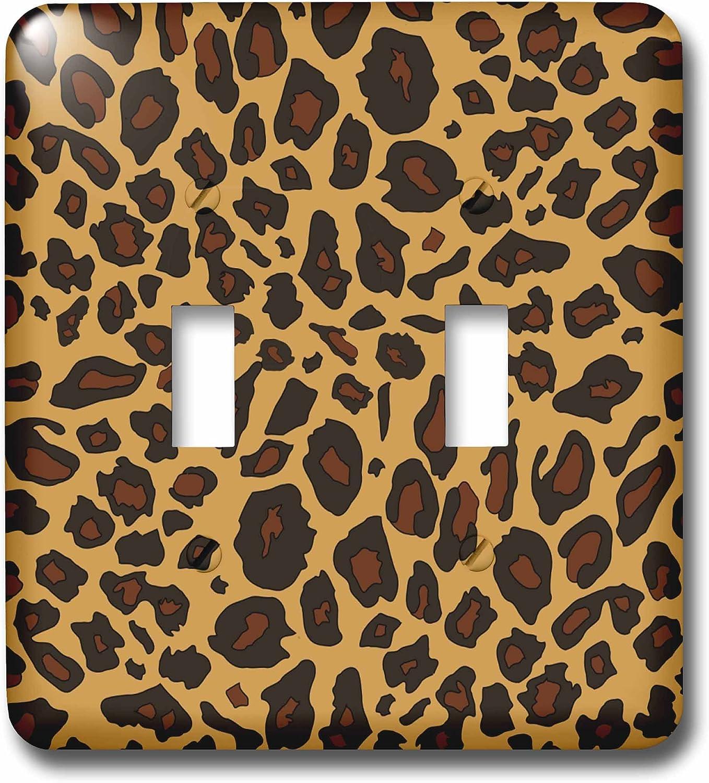 3drose Lsp 112932 2 Leopard Print Cheetah Spots Beige Brown Animal Skin Pattern Sassy Girly Stylish Animal Print Light Switch Cover Multi Switch Plates Amazon Com
