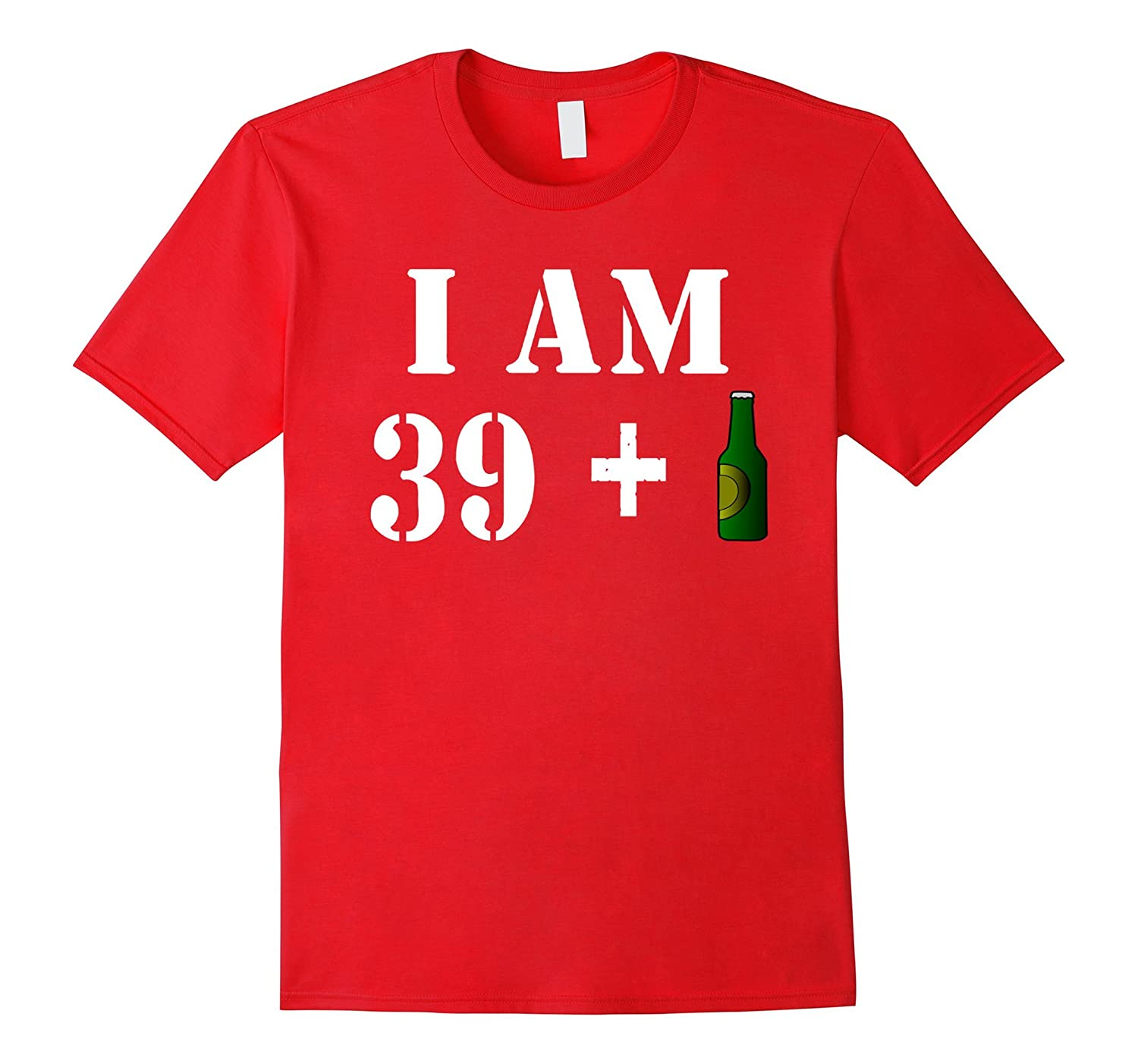 40th Birthday Gift Funny Vintage T-Shirt Idea For Beer Lover-BN