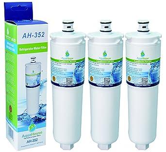 3x AquaHouse AH-352 filtro de agua compatibles para Bosch/Neff ...