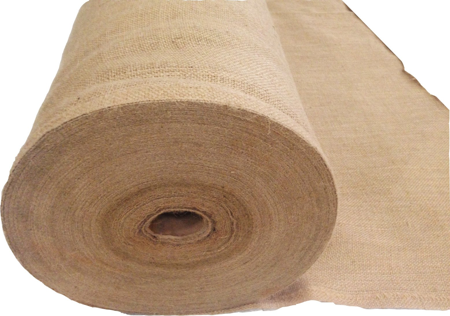 Sandbaggy Burlap Fabric Roll- for Garden, Yard, Wedding, Craft, Decorating Tables - 40 inch x 300 ft (1) by Sandbaggy (Image #1)