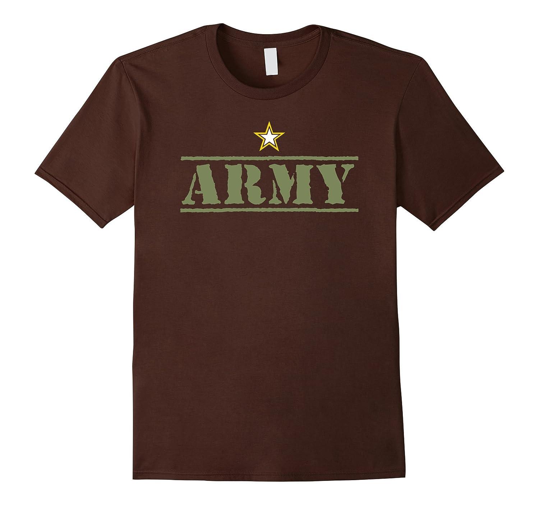 Classic Vintage USA Army Military Logo T-Shirt-ANZ