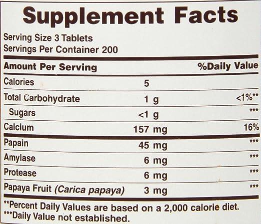Amazon.com: American Health tabletas masticables de enzima ...