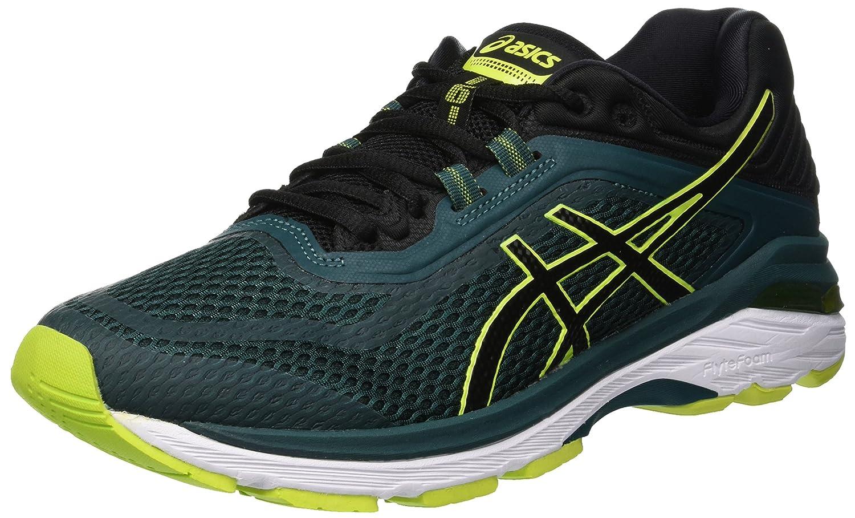 Asics Gt-2000 6, Zapatillas de Running para Hombre 46 EU|Gris (Everglade/Black 300)