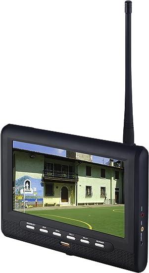 X4-TECH Sol 7 17,8 cm (7 Pulgadas) LCD de televisor con sintonizador DVB-T Integrado Negro: Amazon.es: Electrónica