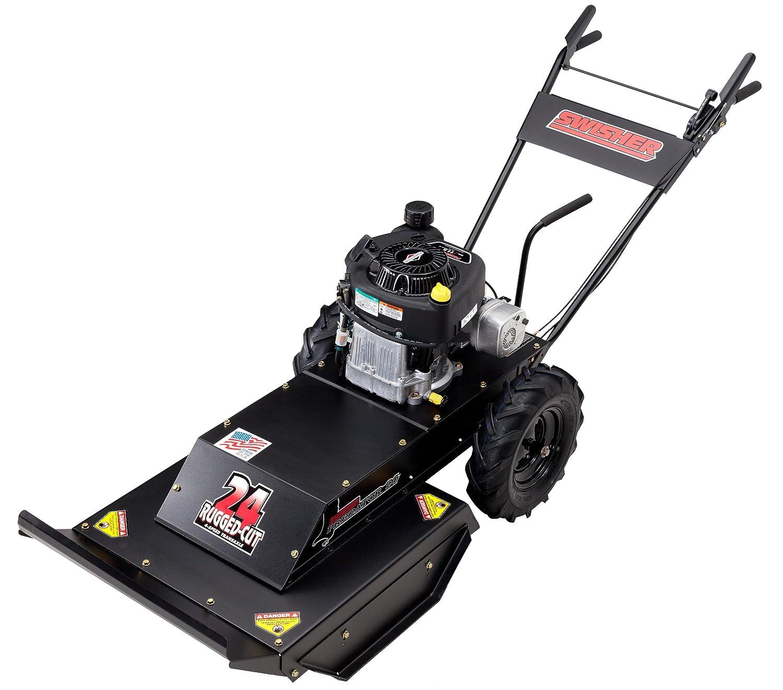 Amazon.com : Swisher WB11524BS Predator 24-Inch Walk Behind Rough Cut Mower  : Walk Behind Lawn Mowers : Garden & Outdoor